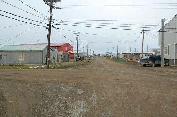 Город Барроу на Аляске
