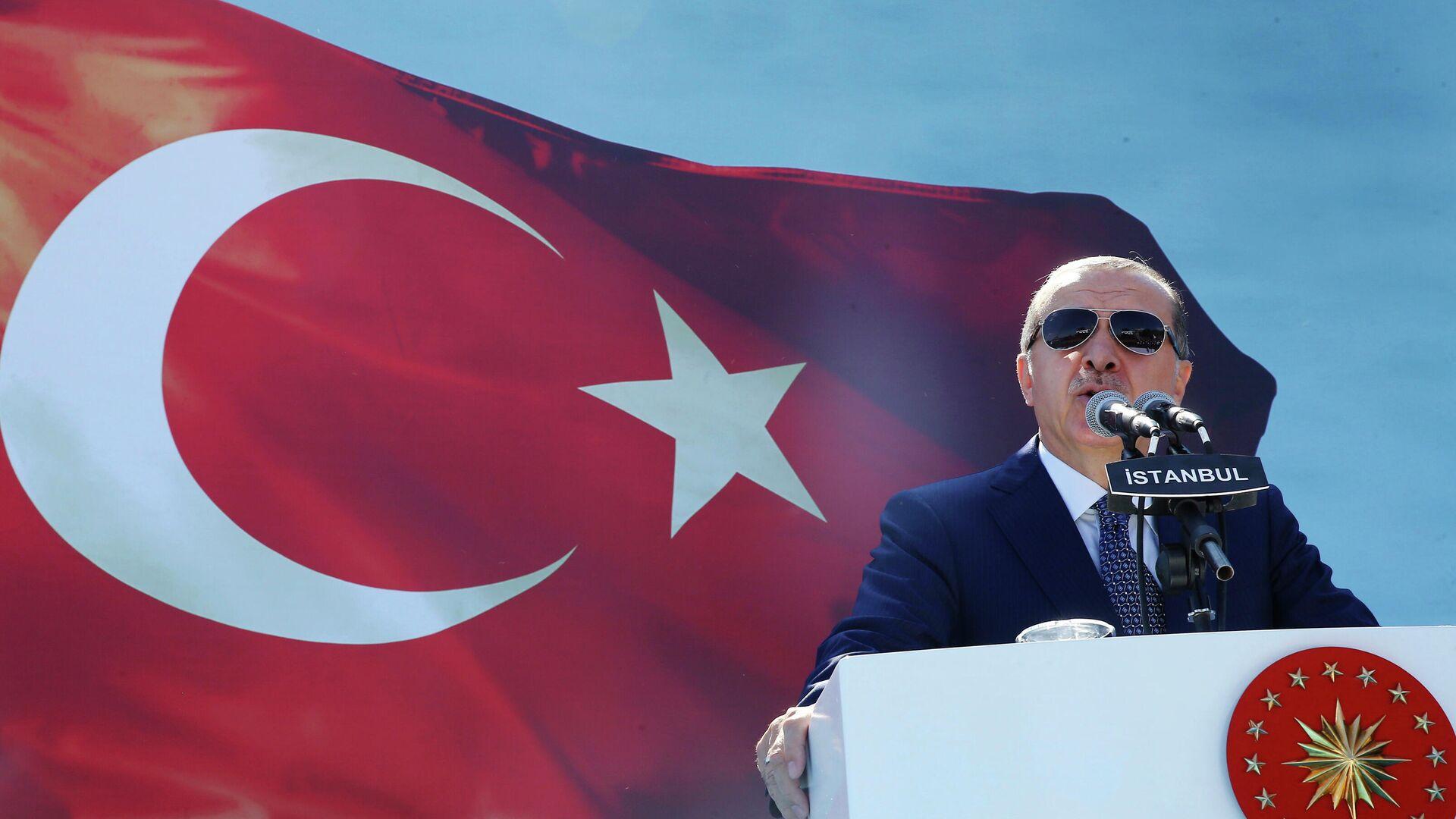 Президент Турции Реджеп Тайип Эрдоган - РИА Новости, 1920, 26.10.2020
