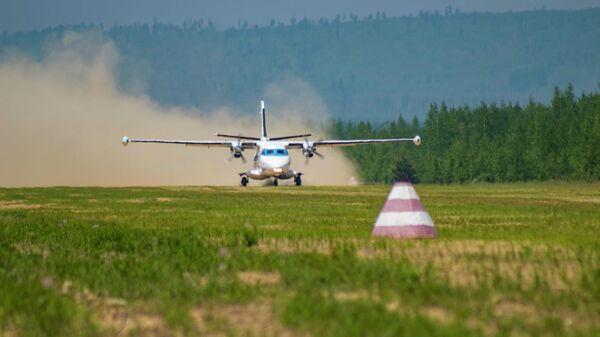 Самолет L-410 авиакомпании Хабаровские авиалинии