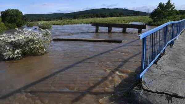 Последствия тайфуна Кроса в Приморском крае