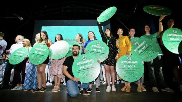 Проект из Оренбуржья выиграл грант Росмолодежи на форуме Евразия Global