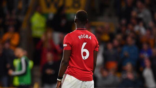 Полузащитник Манчестер Юнайтед Пауль Погба