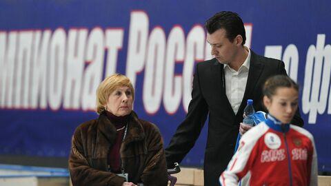 Тренеры Валентина Тюкова и Павел Слюсаренко