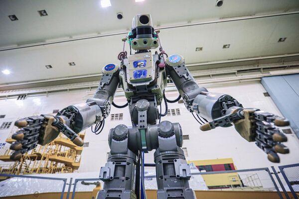 Робот Skybot F-850 на Байконуре