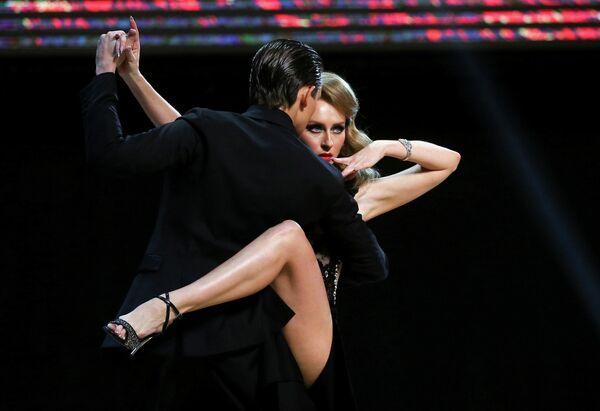 Иван Набокин и Анастасия Извекова на чемпионате мира по танго в Буэнос-Айресе, Аргентина