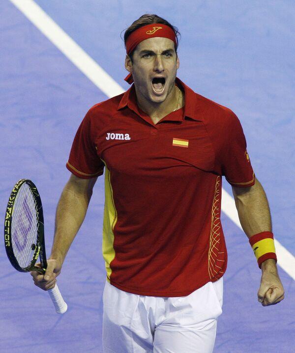 Сборная Испании по теннису выиграла Кубок Дэвиса
