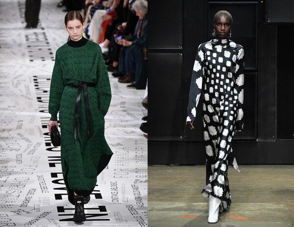 Показ коллекций одежды сезона Осень-Зима 2019/2020 Stella McCartney в Париже и Marni в Милане