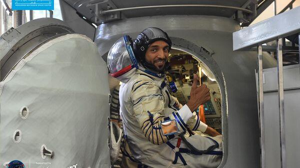 Подготовка космонавтов ОАЭ