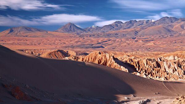 В пустыне Атакама находится самое засушливое место на Земле. Условия обитания там схожи с марсианскими