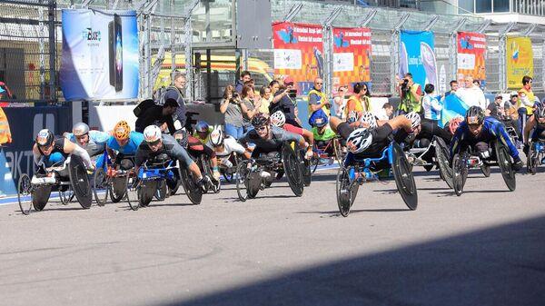 В октябре в Сочи пройдет Международный полумарафон на спортивных колясках