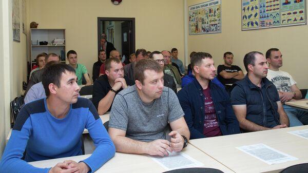 Тренировочные сборы российской команды сварщиков