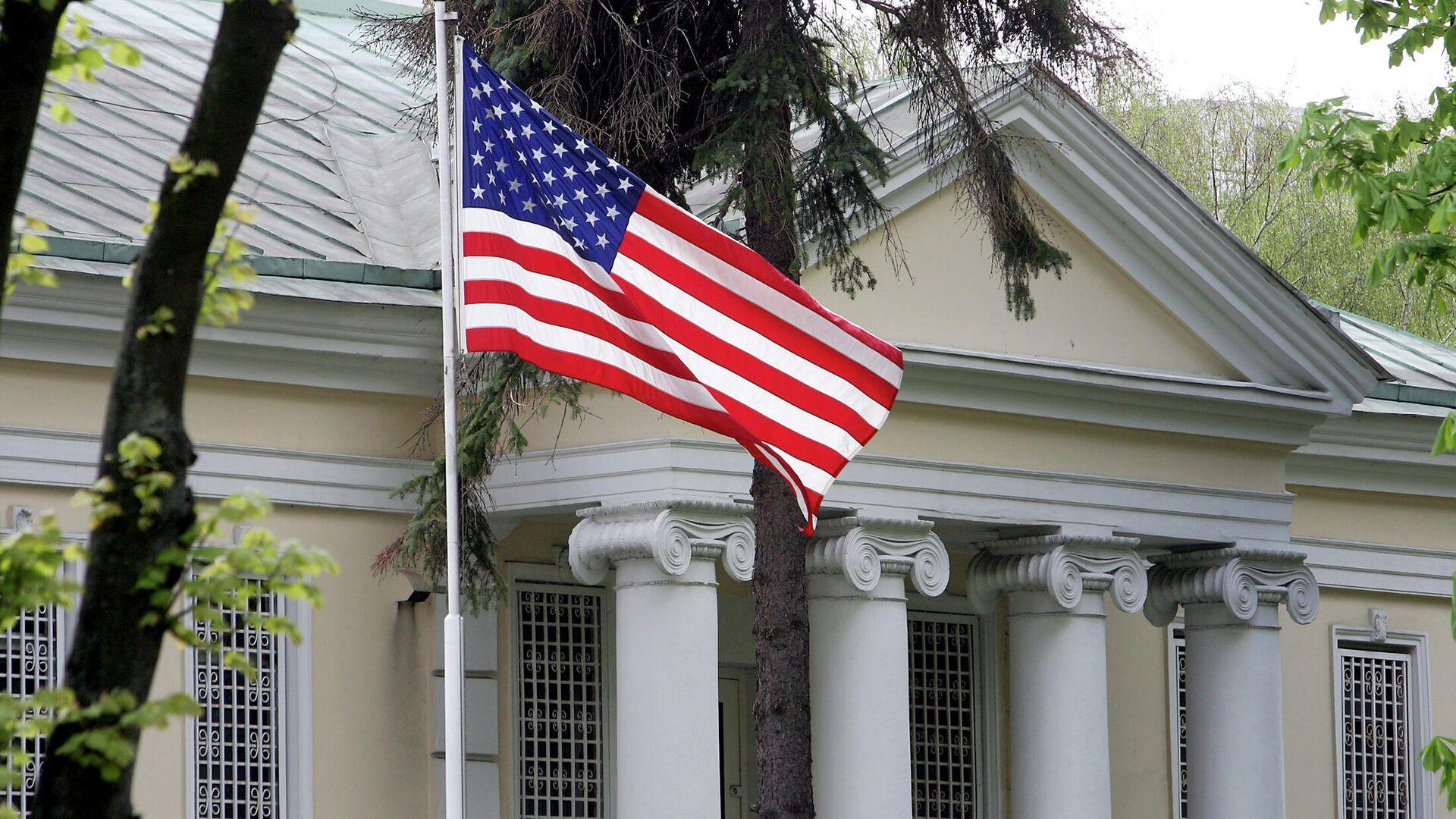 Здание посольства США в Минске - РИА Новости, 1920, 09.06.2021
