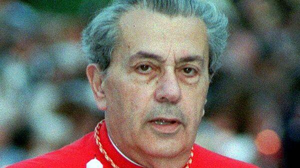 Бывший глава дипломатической службы Святого престола кардинал Акилле Сильвестрини