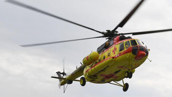 Вертолет Национальной службы санитарной авиации Ми-8 АМТ