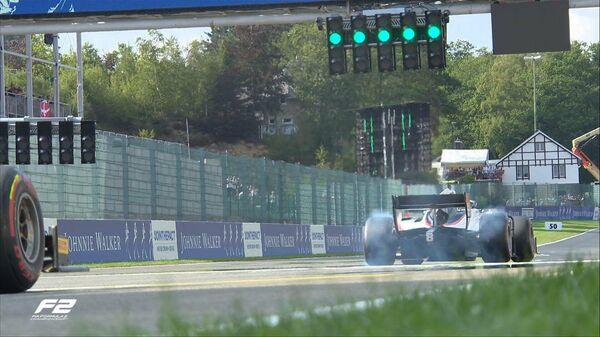 Гонка чемпионата Формулы-2 в Бельгии