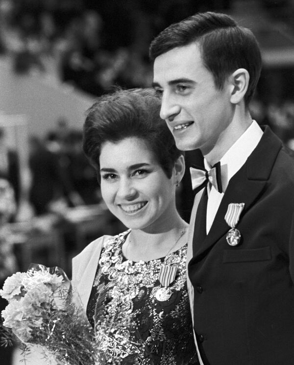 Людмила Пахомова и Александр Горшков