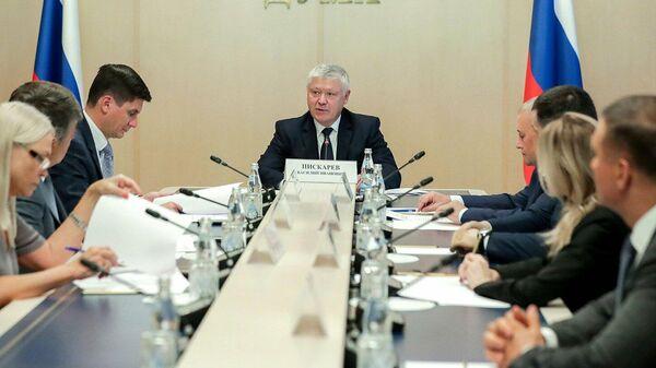 Заседание комиссии по расследованию вмешательства во внутренние дела России