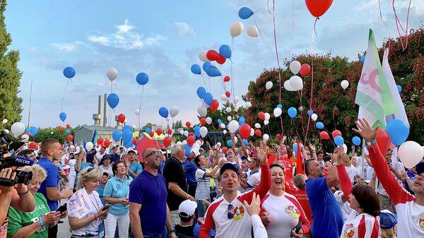 В Крыму проходит спортивный фестиваль для людей с инвалидностью