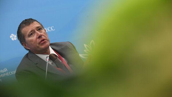 Министр юстиции РФ Александр Коновалов на сессии в рамках V Восточного экономического форума во Владивостоке