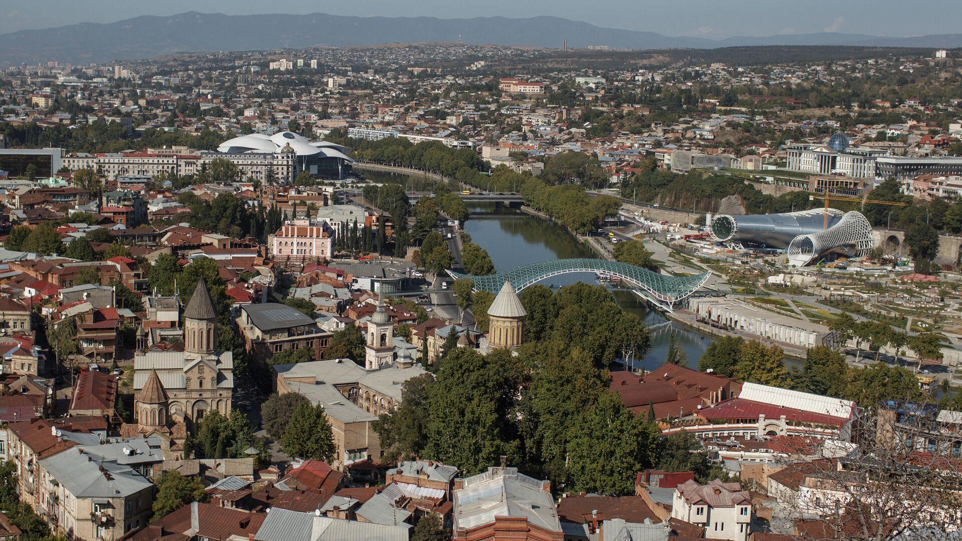 Вид на город Тбилиси - РИА Новости, 1920, 22.06.2021