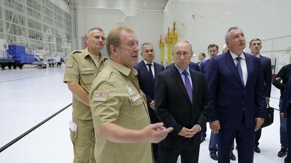 На совещании на Восточном под председательством Путина обсудят новые ракеты