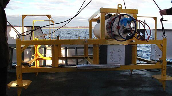 Со дна Балтийского моря исчезла немецкая подводная обсерватория