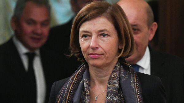 Министр Вооружённых сил Франции Флоранс Парли