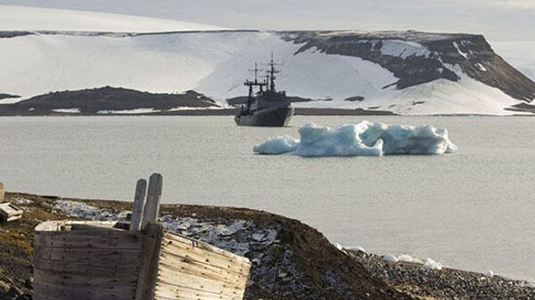 Участники Комплексной экспедиции Северного флота на архипелаге Земля Франца-Иосифа