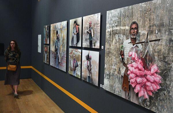 Открытие выставки победителей Международного конкурса имени А. Стенина
