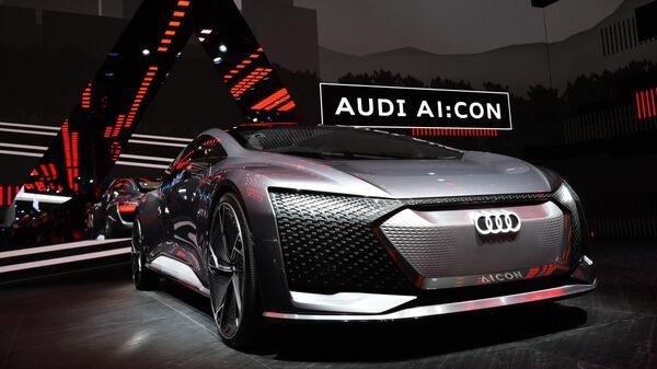 Автомобиль Audi AI:Con на международном автомобильном салоне во Франкфурте