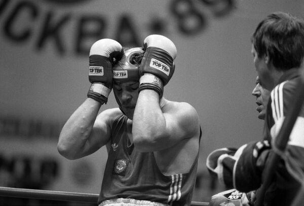 V Чемпионат мира по боксу в Москве.