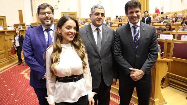 Главы Ростуризма Зарина Догузова на 23-й Генеральной ассамблее Всемирной туристической организации (UNWTO) в Санкт-Петербурге