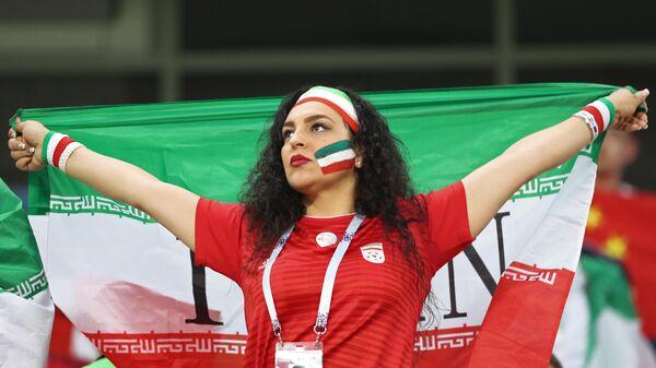 Болельщица сборной Ирана