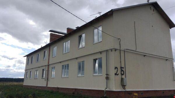 Дом № 25 по улице Юбилейной в поселке Борисоглебский Ярославской области