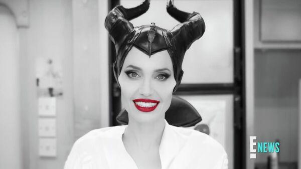 Анджелина Джоли превращается в Малефисенту