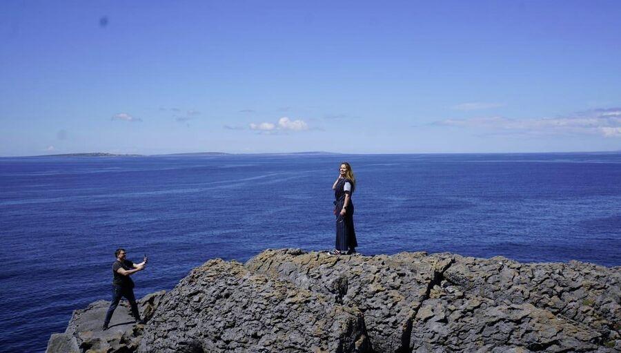 Ирландия. С женой Юлией