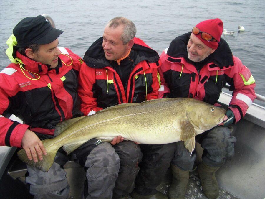 Рыбалка на севере Норвегии
