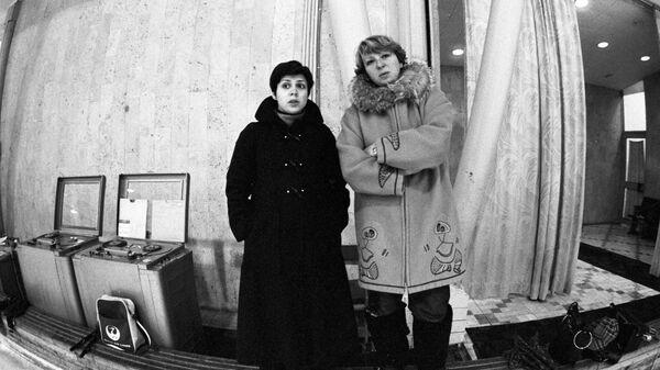 Ирина Роднина и ее тренер Татьяна Тарасова