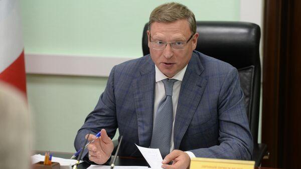 Губернатор Омской области Александр Бурков