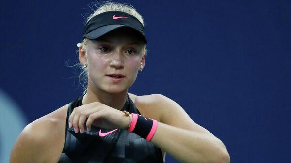 Теннисистка Елена Рыбакина (Россия)