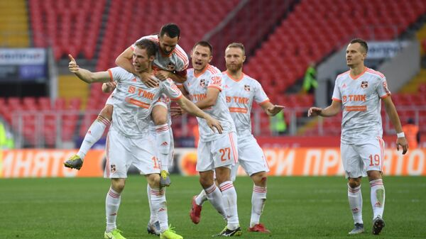 Russia Soccer Premier-League Spartak - Ural