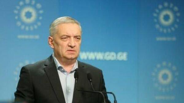 Лидер партии Грузинская мечта Гия Вольский