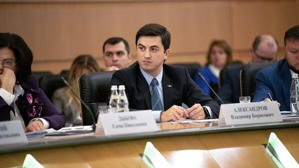 Заместитель генерального директора ПАО Аэрофлот Владимир Александров на конференции в Генеральной прокуратуре РФ