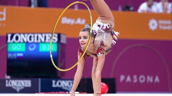 Гимнастка Дина Аверина (Россия)
