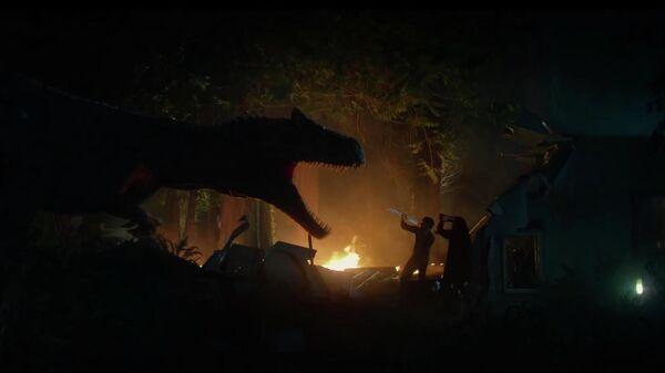Кадр из короткометражки Битва у Большой Скалы