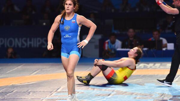Вольная борьба. Чемпионат мира. Женщины