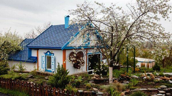 Музей под открытым небом Тихий Дон в хуторе Старозолотовском