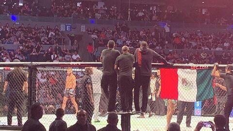 Октагон UFC в Мексике