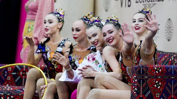 Сбборная России по художественной гимнастике