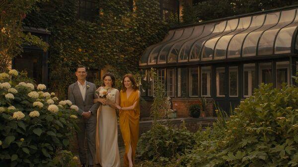 Кадр из фильма После свадьбы